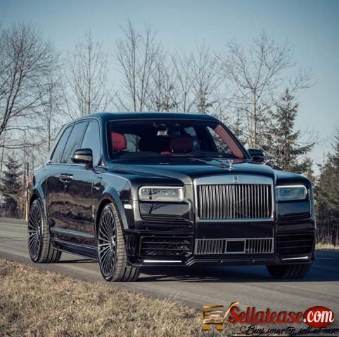 Price of Rolls Royce Cullinan in Nigeria