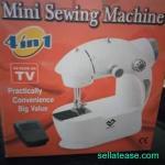 Electric mini sewing machine