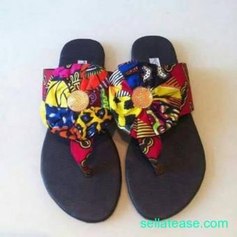 Ankara footwears