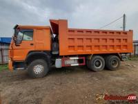 Tokunbo Howo Sinotruck dump trucks for sale in Nigeria