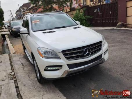 Tokunbo 2012 Mercedes Benz ML350 4Matic full option for sale in Nigeria