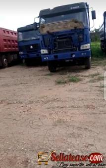 Tokunbo Howo Sinotruck 12 tires 40 tonnes for sale in Nigeria