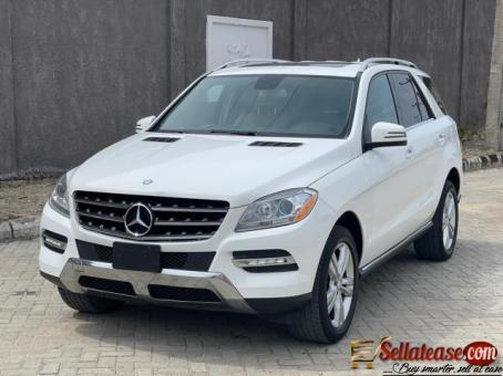 Tokunbo 2014 Mercedes Benz ML350 4Matic full option for sale in Nigeria