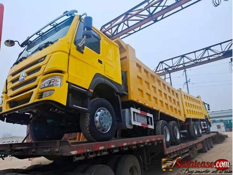 Grade A tokunbo Howo Dump trucks for sale in Nigeria