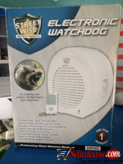 Streetwise Electronic Watchdog BY HIPHEN SOLUTIONS