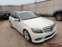 Tokunbo 2011 Mercedes Benz C300 4Matic with pop up screen for sale in Nigeria