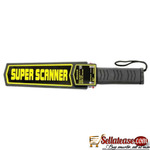 HD-3003B1 SUPER SCANNER HANDHELD METAL DETECTOR WITH CASE BY HIPHEN SOLUTIONS