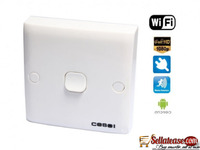 HD 720P H.264 Spy Switch WiFi Camera with Motion Detection LM-WF1278 BY HIPHEN SOLUTIONS