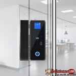 ALPHAR G176 Fingerprint + Password Pin Glass door Lock BY HIPHEN SOLUTIONS