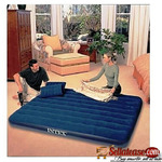 Double Size Airbed With Pump And Pillows