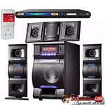 Djack Bluetooth Home Theatre System M3L + Powerful DVD Player + Power Surge