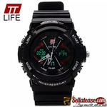 TT Life Dual Wrist Watches Analog and Digital