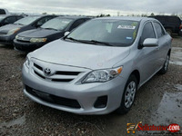 used /tokunbo TOYOTA COROLLA 2010 for sale in Nigeria