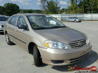 used/ tokunbo TOYOTA COROLLA 2005 for sale