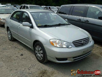 Tokunbo 2005 Toyota corolla  for sale in NIGERIA