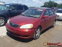 Foreign used 2004 Toyota Corolla for sale in Nigeria