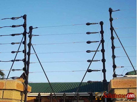ELECTRIC FENCE INSTALLATION SYSTEM