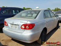 Foreign used/ tokunbo Toyota Corolla 2003 for sale in Nigeria