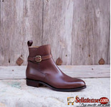 Handmade footwears such as brogues, Chelsea boots, monks, etc