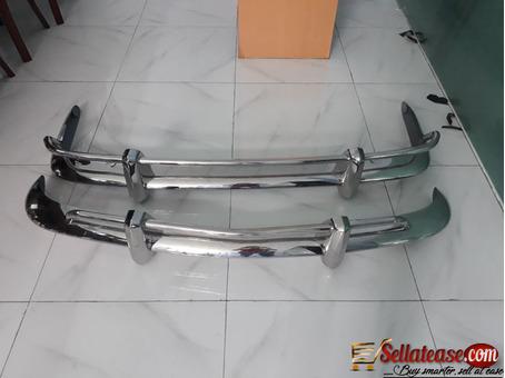 VW Karmann Ghia US style stainless steel bumper