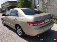Tokunbo 2003 Honda Accord  End of discussion eod for sale in Nigeria