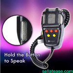 5 Tones Car Siren Vehicle Horn With Mic PA Speaker System