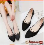 ladies unique flat shoe's