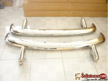 VW Type 3 63-69 stainless steel bumper