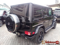 Tokunbo 2013 Bullet proof Mercedes Benz G wagon G63 black for sale in Nigeria