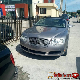 Tokunbo 2007 Bentley continental coupe for sale in Nigeria