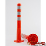 Surface Mount Delineator Reflective Warning Post By Hiphen Solution Services Ltd.