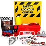 11 Piece Electrical Lock Out & TagOut LOTO Safety Center Kit