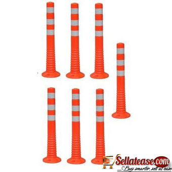 Surface Mount Delineator Reflective Warning Post