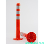 Surface Mount Delineator Reflective Warning Post - 2 Pieces