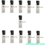 Door Lock With RFID Card Access Control - 304 Stainless - 11 Sets
