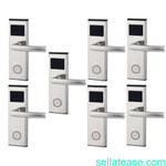 Xeeder Electronic Door Lock With RFID Card Access Control - 7 Set