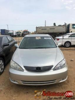 Used/ tokunbo 2003 TOYOTA CAMRY Big for nothing for sale in Nigeria