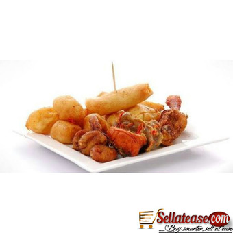 Delicious small chops