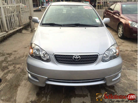 Tokunbo Toyota Corolla 2007 for sale in Nigeria