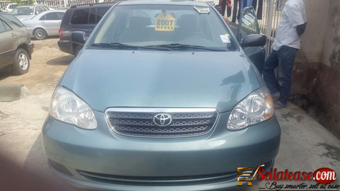 Clean Nigerian used 2003 Toyota Corolla for sale