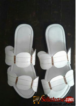 White female quality slippers