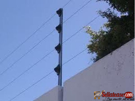 Electronic wired fence