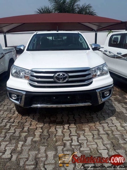 Brand new 2017 Toyota Hilux (manual) for sale in Nigeria
