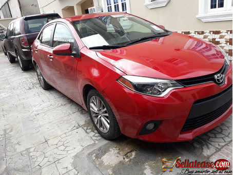 Used /tokunbo Toyota Corolla 2014 for sale in Nigeria