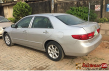 Nigerian Used Honda Accord 2004 End of discussion EOD for sale