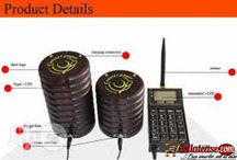 Wireless Paging System Easy Call Guest Waiting Area Restaurant BY HIPHEN SOLUTIONS