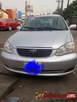 Nigerian used Toyota corolla 2003/ 2004 for sale in Nigeria