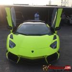 Tokunbo 2013 Lamborghini Aventator for sale in Nigeria