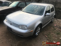 Tokunbo 2004 Volkswagen Golf 4 for sale in Nigeria