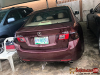 Nigerian used Acura TSX 2010 for sale in Nigeria